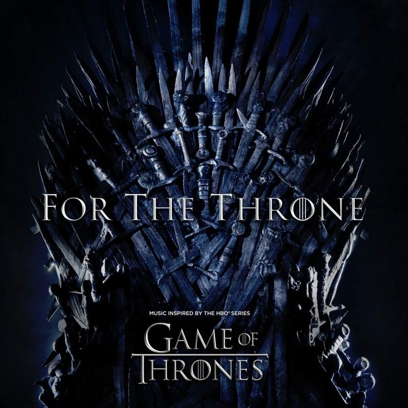 SOUNDTRACK – For The Throne (Music Inspired by the HBO Series Game of Thrones) – LP